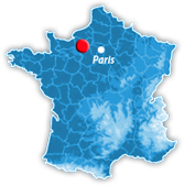 situation sur la carte de france